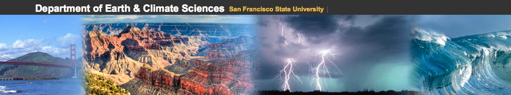 Link to Geosciences Dept SFSU